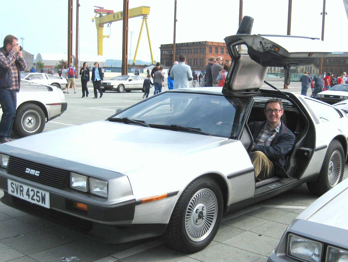 Ready in my DeLorean to go Back to the Future!